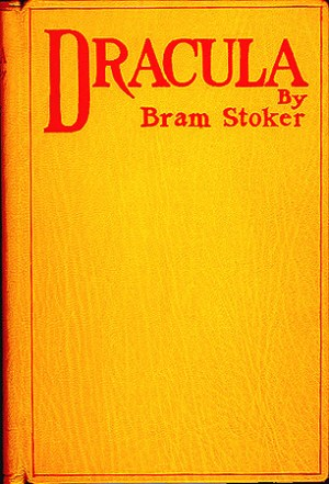 Dracula by Bram Stoker first edition