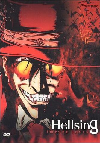 Hellsing anime TV cover