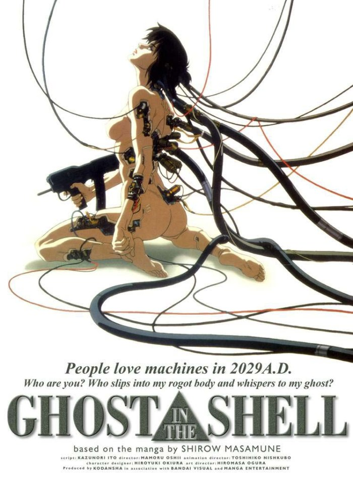 Ghost in the Shell 1995 anime poster