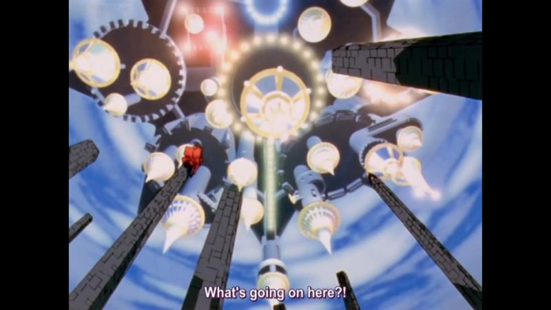 Revolutionary Girl Utena anime castle