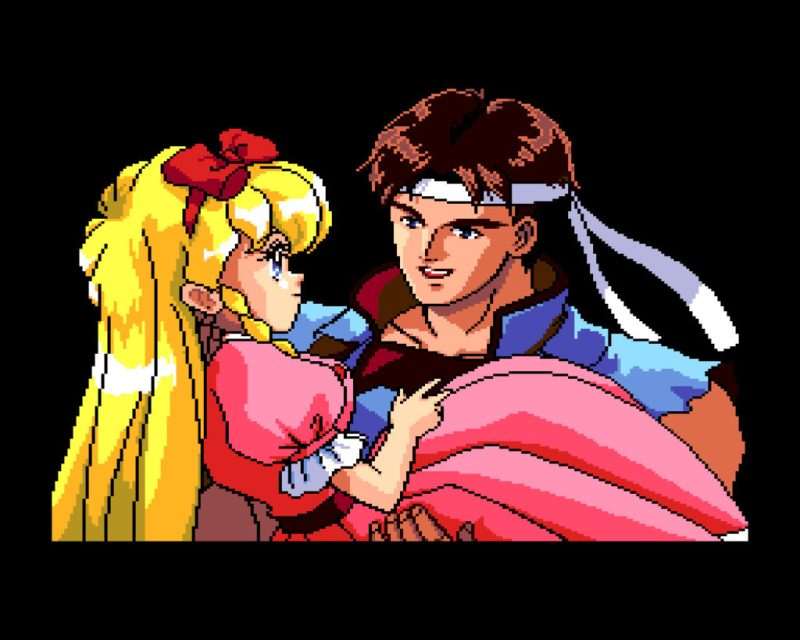 Castlevania: Rondo of Blood Richter Belmont and Maria Renard