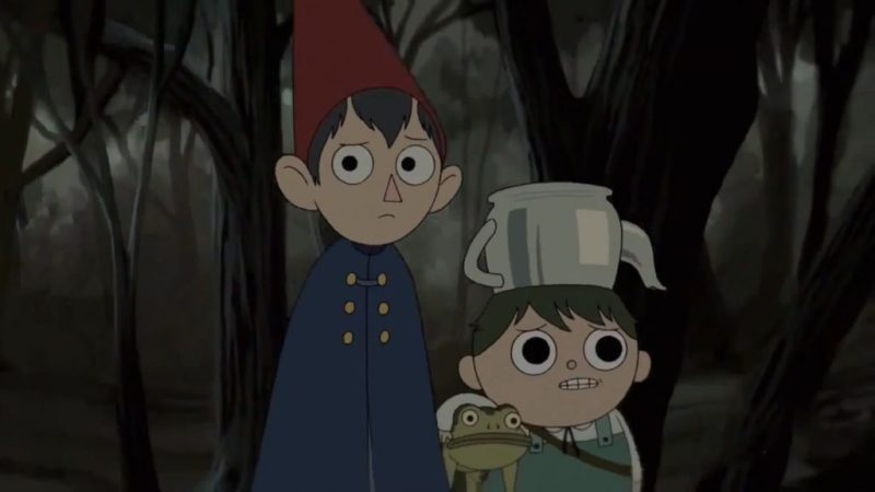 Over the Garden Wall Wirt and Gregory