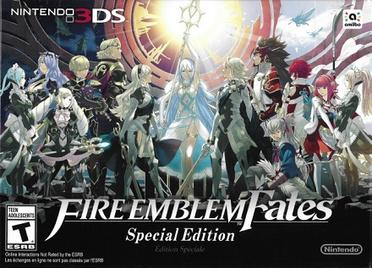 Fire Emblem Fates special edition cover art