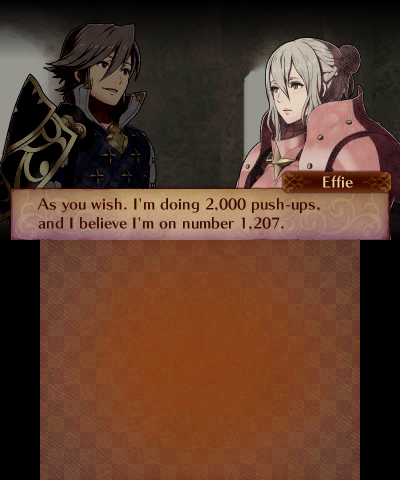 Fire Emblem Fates: Conquest localized Effie