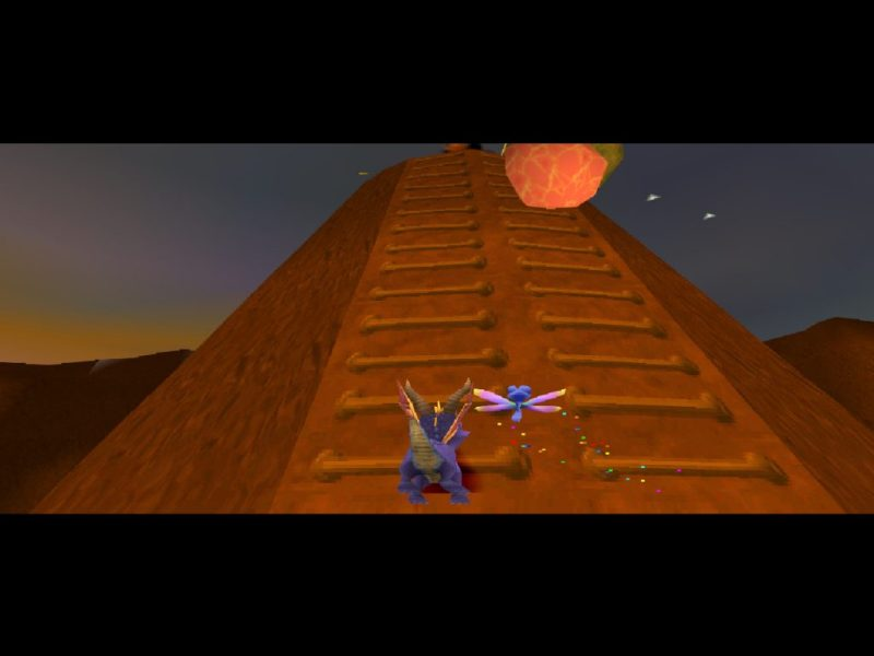 Spyro 2: Ripto's Rage (Gateway to Glimmer) gameplay Magma Cone