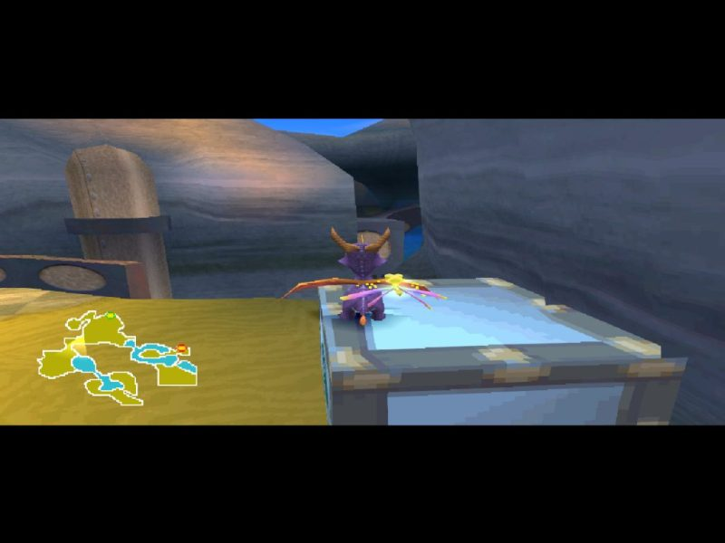 Spyro 2: Ripto's Rage (Gateway to Glimmer) gameplay Sunny Beach