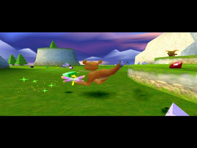 Spyro: Year of the Dragon PS1 gameplay Sheila's Alp