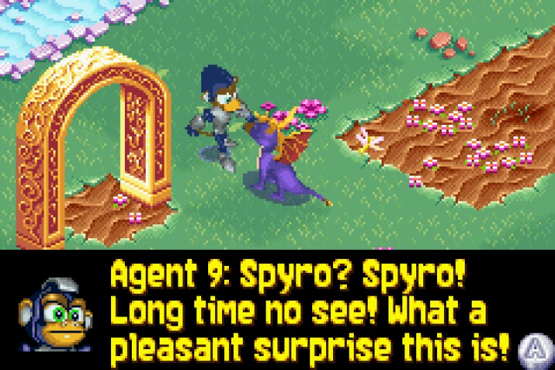 Spyro 2: Season of Flame gameplay Agent 9