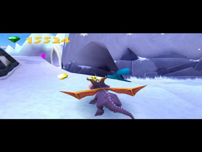 Spyro: Year of the Dragon PS1 gameplay Super Bonus Round