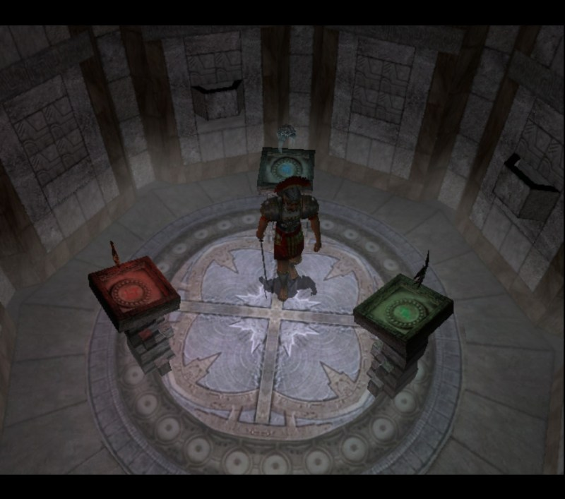 Eternal Darkness: Sanity's Requiem Pious Augustus gameplay artifacts room