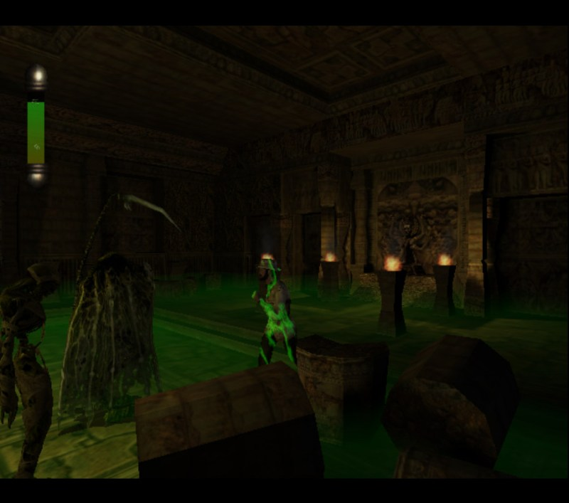 Eternal Darkness: Sanity's Requiem gameplay Dr. Edwin Lindsey