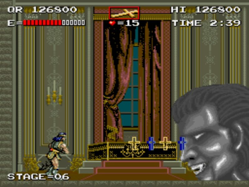 Haunted Castle (Castlevania) gameplay Dracula final form