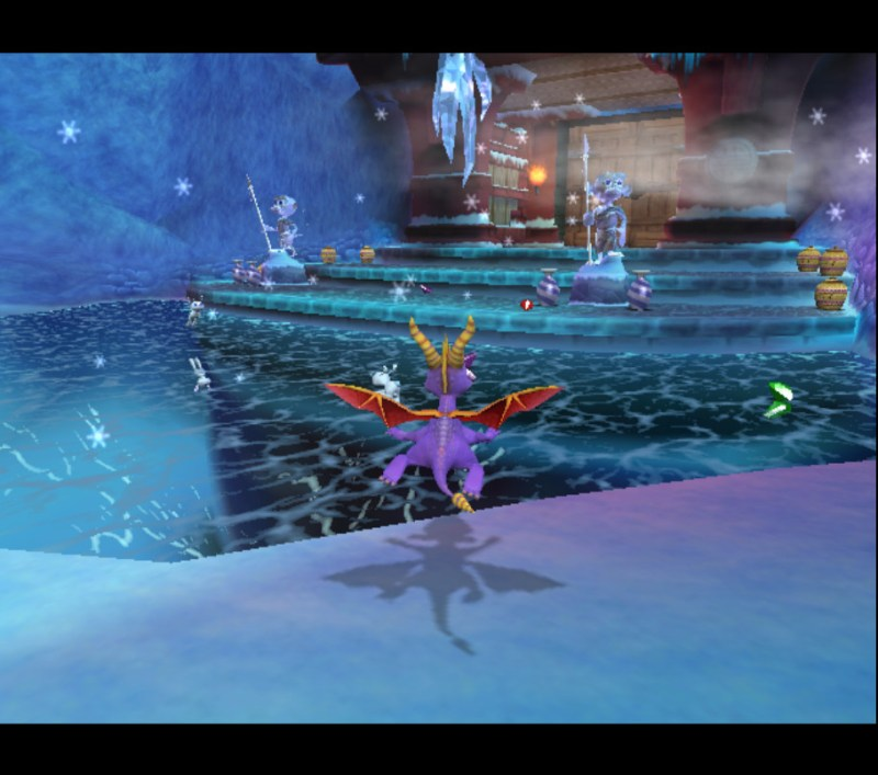 Spyro: Enter the Dragonfly gameplay Monkey Monastery