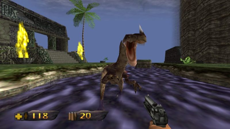 Turok: Dinosaur Hunter raptor