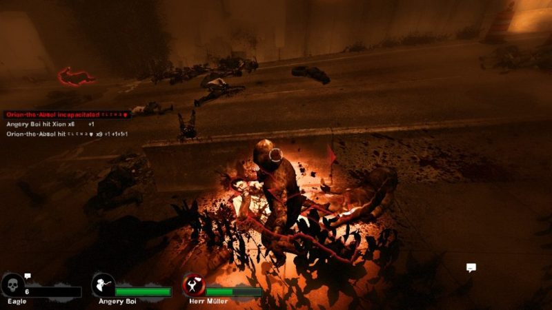 Left 4 Dead 2 gameplay Versus Mode