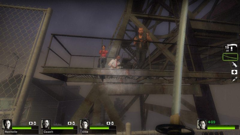 Left 4 Dead 2 The Passing Francis, Zoey and Louis