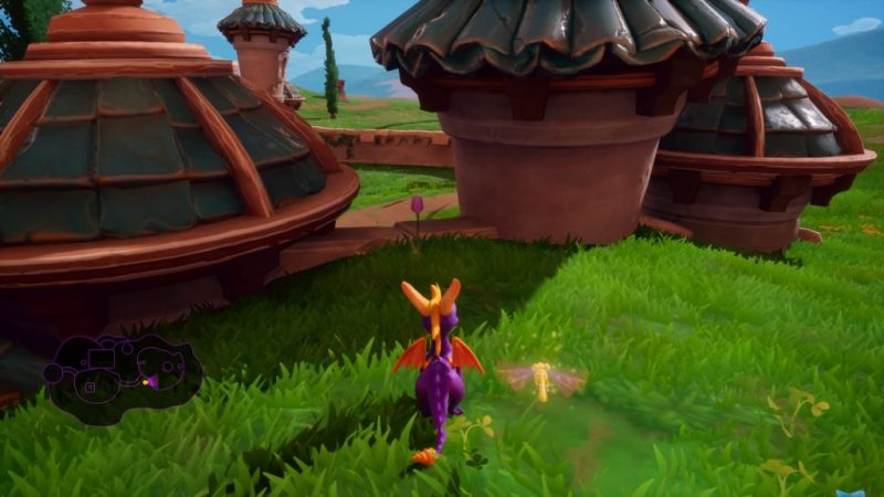 Spyro Reignited Trilogy (Spyro 1) Skill Point Stone Hill pink tulip