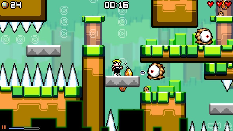 Mutant Mudds Super Challenge gameplay
