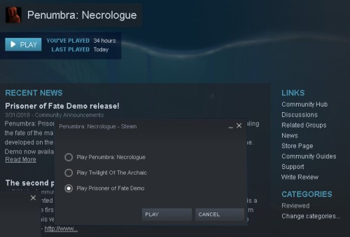 How to play Penumbra: Prisoner of Fate demo on Steam