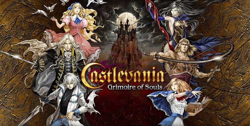 Castlevania: Grimoire of Souls mobile game banner