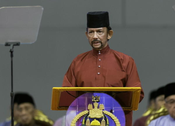 Sharia Law to be implemented in Brunei