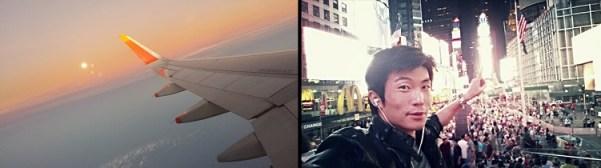 Modeling traveling New York City june top model