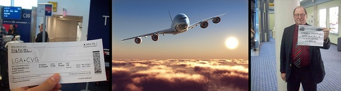 expenses paid modeling travel airplane