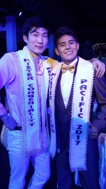 Mr congeniality and mr latino pacific world winner