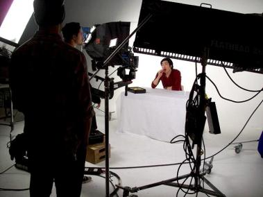 Macaron Magnifique Commerical - behind the scenes jun wu top model