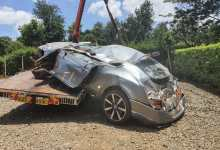 Photo of VIDEO: Kenyan Records Himself Minutes Before Accident Crashing A 28 Million Bentley GT