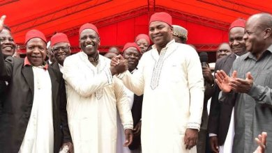 Photo of Ruto; Echesa And His Cartels Breached My Security