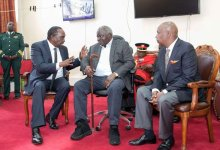 Photo of Former President Mwai Kibaki Hospitalized