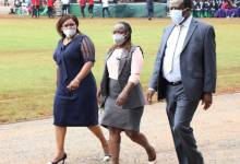 Photo of Kenyans Admire The Love Between Oparanya's Two Wives After They Accompanied Him To The Mashujaa Day Celebration