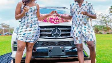 Photo of Bahati Gifts Diana Marua A New Mercedes Benz On Their 5th Marriage Anniversary