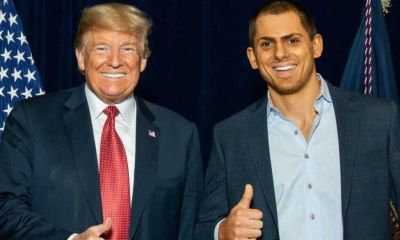Anton Lazarro and Donald Trump