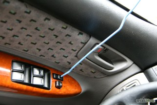 Crime increasing in Langford - Coat-Hanger-to-Break-Into-a-Car-Step-4