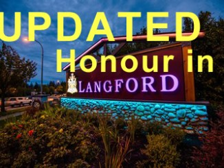 Finding Honour in Langford (UPDATED)