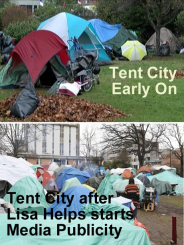 tent city has no solution