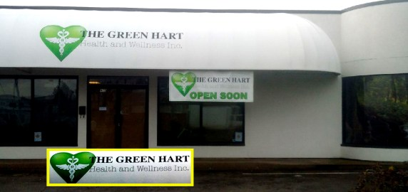Green Hart Medical Marijuana Store, picture by Hal Hannon