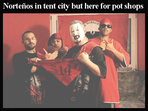 Norteos In Victoria For Pot Shops And Tent City Breaking The Code