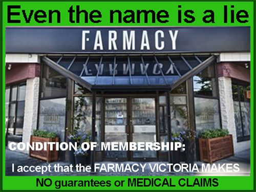 Farmacy Victoria is a Criminal Enterprise