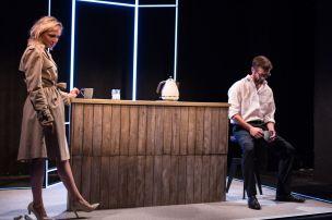 Punts, Theatre503 - Florence Roberts and Graham O_Mara (courtesy of Claudia Marinaro)