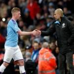 Pep Guardiola, speră ca mijlocașul Kevin De Bruyne să semneze prelungirea cu Manchester City