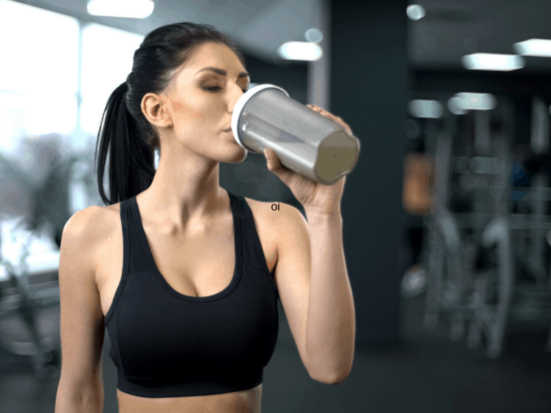 10 Essential Items to keep in your gym bag-Post workout drink