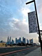 View from City Walk - The cluster of buildings on Sheikh Zayed Road