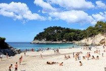 Cala Mitjana-Minorque-plage-côte-sud