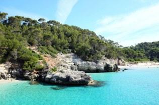 Cala Mitjaneta-Minorque-plage-côte-sud