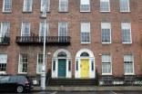 Dublin-quartier-géorgien-portes colorées-Merrion Square