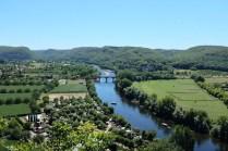 La vallée de la Dordogne depuis le château de Beynac