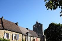 Les belles maisons de Domme dans le Périgord